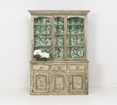 19th Century Cornish Hutch Vitrine In Original Paint - 758067