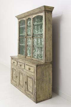19th Century Cornish Hutch Vitrine In Original Paint - 758069