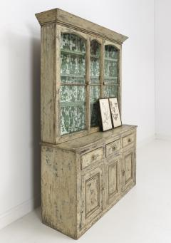 19th Century Cornish Hutch Vitrine In Original Paint - 758071