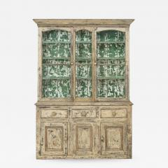 19th Century Cornish Hutch Vitrine In Original Paint - 758263