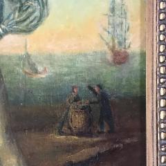 19th Century Danish Dandy Coastal Scene o c - 1702697