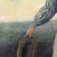 19th Century Danish Dandy Coastal Scene o c - 1702698