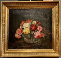 19th Century Danish Floral O C Johan Laurentz Jensen School - 1534573