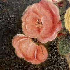 19th Century Danish Floral O C Johan Laurentz Jensen School - 1534574