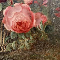 19th Century Danish Floral O C Johan Laurentz Jensen School - 1534576