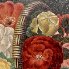 19th Century Danish Floral O C Johan Laurentz Jensen School - 1534578