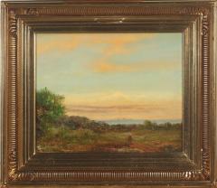 19th Century Danish Landscape with Woman - 1924812
