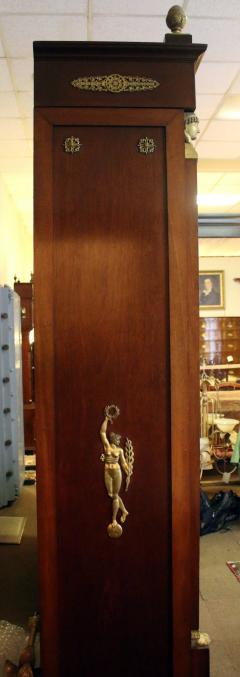 19th Century Empire Style French Mahogany Bookcase - 649360