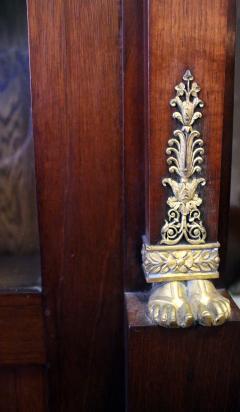 19th Century Empire Style French Mahogany Bookcase - 649361