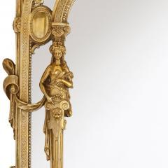 19th Century Empire style ormolu table mirror - 1451576