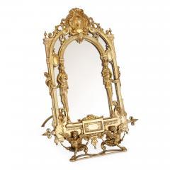 19th Century Empire style ormolu table mirror - 1451577