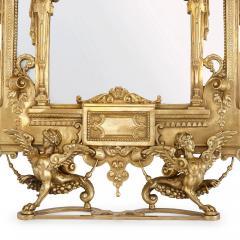 19th Century Empire style ormolu table mirror - 1451580