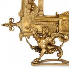 19th Century Empire style ormolu table mirror - 1451581