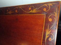 19th Century English Hepplewhite Mahogany Bow Front Sideboard Server - 990301