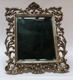 19th Century French Baroque Giltwood Vanity or Wall Mirror - 925378