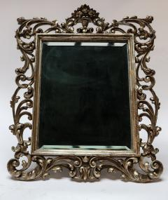 19th Century French Baroque Giltwood Vanity or Wall Mirror - 925379