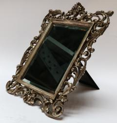 19th Century French Baroque Giltwood Vanity or Wall Mirror - 925380