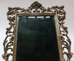 19th Century French Baroque Giltwood Vanity or Wall Mirror - 925382