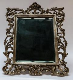 19th Century French Baroque Giltwood Vanity or Wall Mirror - 925383