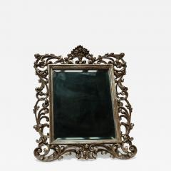 19th Century French Baroque Giltwood Vanity or Wall Mirror - 926086