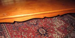 19th Century French Country Fruitwood Dining Table - 889105