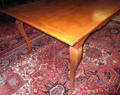 19th Century French Country Fruitwood Dining Table - 889109