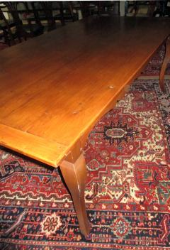 19th Century French Country Fruitwood Dining Table - 889111
