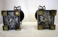 19th Century French Egyptian Revival Gilt Bronze and Marble Compotes - 829297