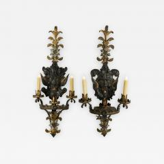 19th Century French Gothic Style Sconces - 1199089