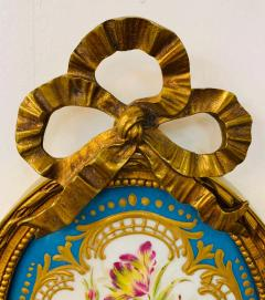 19th Century French Ormolu Wall Sconce with Limoges Porcelain - 1688691