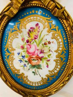 19th Century French Ormolu Wall Sconce with Limoges Porcelain - 1688692