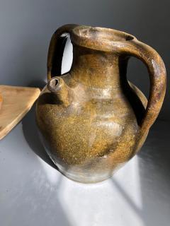 19th Century French Stoneware Wine Jar - 782004