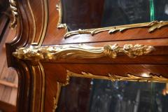 19th Century French Vitrine Gilt Bronze - 370554