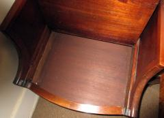 19th Century Georgian Mahogany Bowfront Bedside Table Commode - 996304