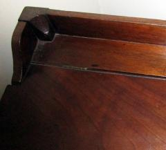 19th Century Georgian Mahogany Bowfront Bedside Table Commode - 996306