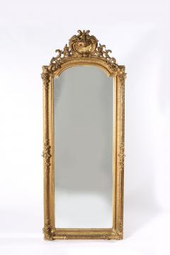 19th Century Giltwood Framed Hanging Wall Mirror - 1574343