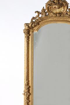19th Century Giltwood Framed Hanging Wall Mirror - 1574344