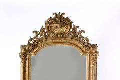 19th Century Giltwood Framed Hanging Wall Mirror - 1574346