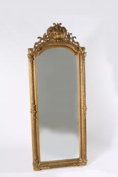 19th Century Giltwood Framed Hanging Wall Mirror - 1574349