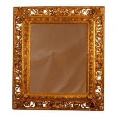 19th Century Italian Gilt Wood Mirror - 1842806