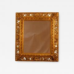 19th Century Italian Gilt Wood Mirror - 1845605