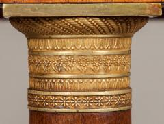 19th Century Italian Table of Mahogany and Painted Architectural Scenes of Rome - 625721