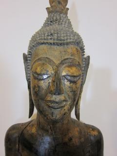 19th Century Lao Buddha Statue - 1436747