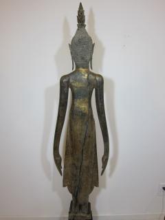 19th Century Lao Buddha Statue - 1436752