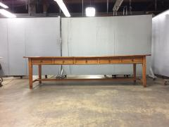 19th Century Large Size Pine Table - 1005075