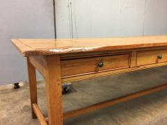 19th Century Large Size Pine Table - 1005076