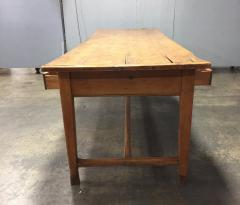19th Century Large Size Pine Table - 1005077