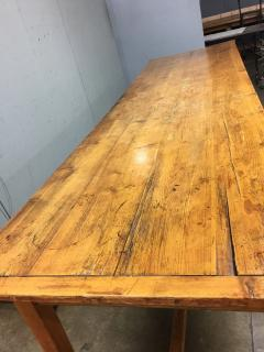 19th Century Large Size Pine Table - 1005078