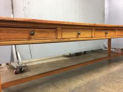 19th Century Large Size Pine Table - 1005079