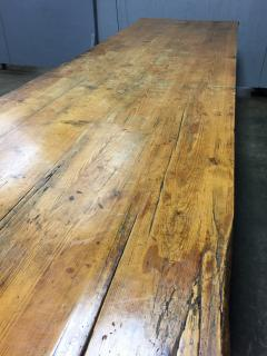 19th Century Large Size Pine Table - 1005080